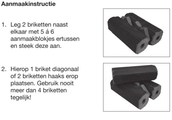 Instructie Aanmaakblokjes